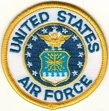 "2 1/2"" inch Military USAF United States US Air Force Seal Embroidered Patch"