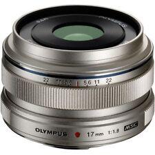 Olympus M.ZUIKO Digital 17mm f/1.8 Objektiv NEU! - Silber