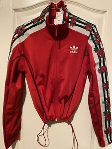 NEW adidas EH8726 Limited Edition Scarlet Track Top JACKET Women's Size XS