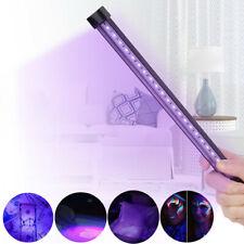 LED UV Lampe Licht Schwarzlicht Party Bühnenlicht USB Home Handlampe Leuchte 5W
