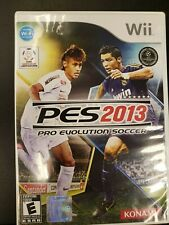 PES 2013 Nintendo Wii Complete CIB Tested