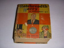 Hairbreadth Harry in Department QT, Big Little Book BLB #1101, 1935, Whitman!