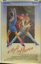 A Night in Heaven Original Single Sided Movie Poster 1983 Christopher Atkins