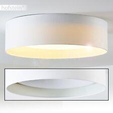 Deckenlampe LED Design Wohn Zimmer Lampen Decken Leuchten Stoff weiß 24 Watt