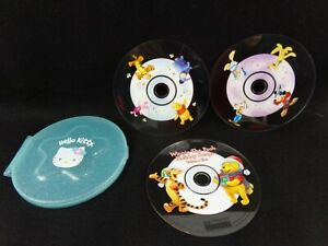 Kellogg's Cereal Huggies Winnie the Pooh Music CD Mickey Mouse Hello Kitty Case