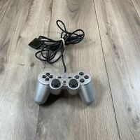 Official Sony PlayStation 2 DualShock Analog OEM Controller SCPH-10010 SILVER