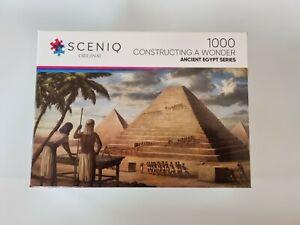 SCENIQ ORIGINAL Jigsaw Puzzle Ancient Egypt, Pyramids 1000pce