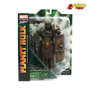 "Marvel Select Planet Hulk 10"" Action Figure (NM Package!)"