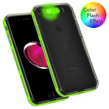 with On/Off LED Case Light Up Selfie Flash Luminous Cover For iPhone 7