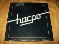 HARPO S/T Sealed LP Private Press HARD ROCK 1981 UPSTATE NY Self Titled