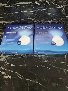 A8. 2 Auraglow Deluxe Home Teeth Whitening Kit 20 Whitening Treatments