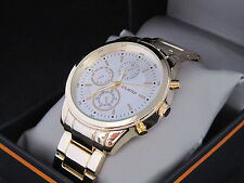 Kenneth Cole Unlisted Mens Gold Stainless Steel Watch UL 7764