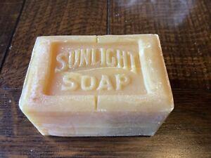 Vintage Sunlight Soap Bar Early 20th Century