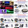 5M SMD 3528 5050 5630 300LEDs RGB White LED Strip Light +Remote+12V Power Supply