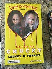 Living Dead Dolls   Bride of Chucky  Chucky & Tiffany   Mezco Collector