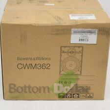 """Bowers & Wilkins CWM362 6"""" Pair 2-Way In-Wall Loudspeaker System White"""