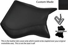 Costura negra Custom encaja Cagiva Mito 125 95-07 Frontal De Cuero Funda De Asiento