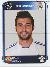 N°432 RAUL ALBIOL # ESPANA REAL MADRID UEFA CHAMPIONS LEAGUE 2011 STICKER PANINI