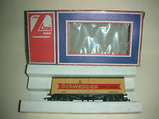Lima Reefer Car - Schweppes Tonic Water - HO Scale - Made in Italy  (CA 10)