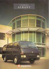 Vauxhall Albany 1990-91 UK Market Sales Brochure Bedford Midi