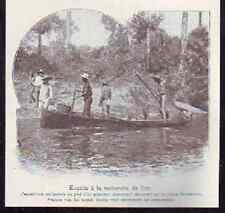 1908  --  GUYANE BAGNE  EVADES RECHERCHE DE  L OR  M892