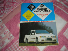 "Revue technique ""l'expert automobile""FORD SIERRA ""87"""