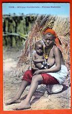 CPA Nu Ethnique d'Afrique - Femme Malinké - Seins Nus