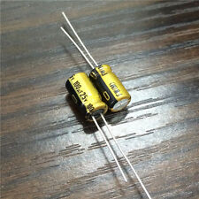 10pcs 100uF 25V 6.3x11mm Nichicon FW 25V100uF High Grade HiFi Audio Capacitor