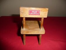 Vintage 1950's Cape Cod Toymakers Doll Furniture Chair w/Red Label