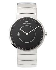 Danish Design IQ62Q830 Black Dial Titanium Quartz Classic Men's Watch