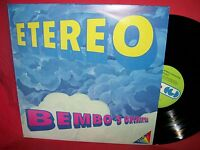 BEMBO'S ORCHESTRA Etereo LP ITALY 1982 MINT- Neo-Romantic Synth-pop Ambient
