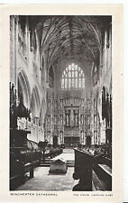 Hampshire Postcard - Winchester Cathedral - The Choir Looking East   XX795
