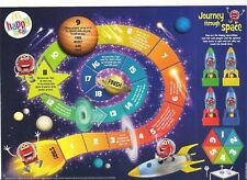 McDonalds 2018 Journey through space pop / cut out card game uk
