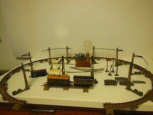 Loco ELECTRIC TROLLEY LE MIGNON par JEP avec son reseau, ses wagons etc.