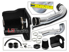 Black Cold Shield Air Intake Kit For 07-08 Chevrolet Silverado Tahoe 4.8L 5.3L