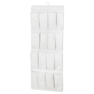 NEW IKEA Hanging Shoes Storage Organiser 16 Pockets Hook Eyelet Organizer