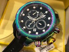 15984 Invicta Reserve Venom 52mm Swiss Quartz Chrono Iridescent Case Strap Watch