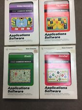 Texas Instruments TI-99/4 Command Module Cartridge Lot With Manuals Clean