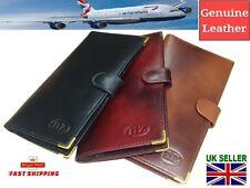 Travel Wallet Leather Passport Holder Women Credit Card Cash  Boarding Ticket