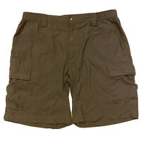 The North Face Mens Horizon Cargo Shorts Taupe Hiking Sz XL 9""
