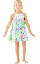 Lilly Pulitzer Girls Mini Pearl Shift Dress Size 10 Catch The Wave