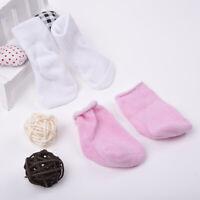 1Pair Handmade Doll Socks Clothes For 18 inch American Kids Dolls Decor X0F4