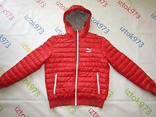 Puma AG Men's Rudolf Dassler Sport Quilted Padded Proof Hooded Jacket sz L