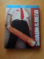 Shaun Of The Dead Blu ray Steelbook (Region Free Canadian Import)