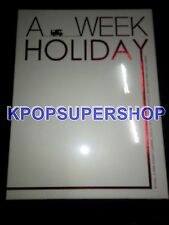 Dong Bang Shin Ki Photobook A Week Holiday Camping DVD Tohoshinki TVXQ Rare NEW