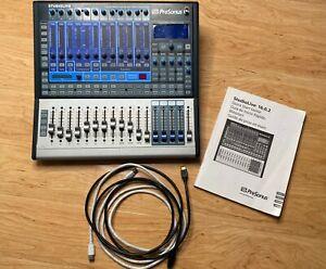 PreSonus Studio live 1602 mixer and FireWire Recording interface