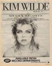 Kim Wilde LP advert 1982