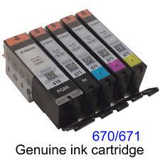 Canon Genuine PGI-670 CLI-671 Ink Cartridge MG7766/TS8060/TS9060/TS6060/TS5060