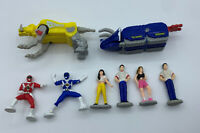 Vintage Lot Power Rangers Mini Figures 1990's