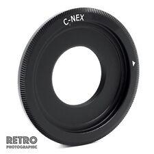 C-NEX C-Mount Cine CCTV Lens to NEX Sony E Mount Adapter Ring - UK Stock
